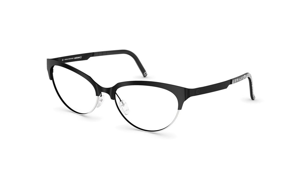 occhiale-neubau-T030-Lotte-9440-black-ink-white-matte