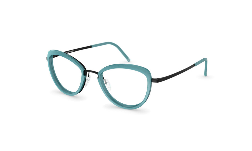 occhiale-neubau-T050-Sarah3D-5140-mint-black-ink-matte