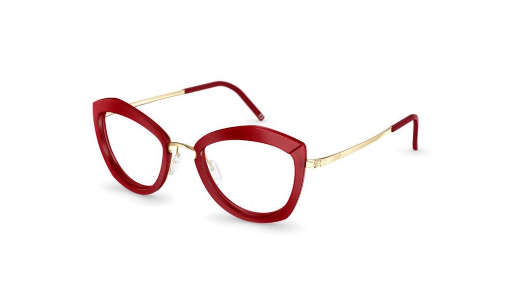 occhiale-neubau-T051-Sarah3D-3130-electric-red-glorious-gold