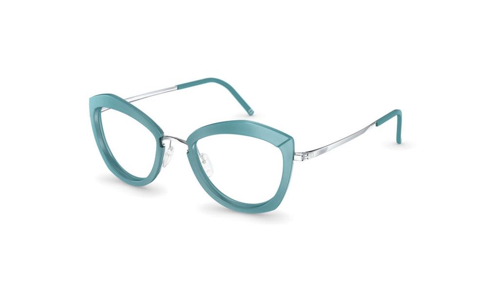 occhiale-neubau-T051-Sarah3D-5210-mint-eclectic-silver