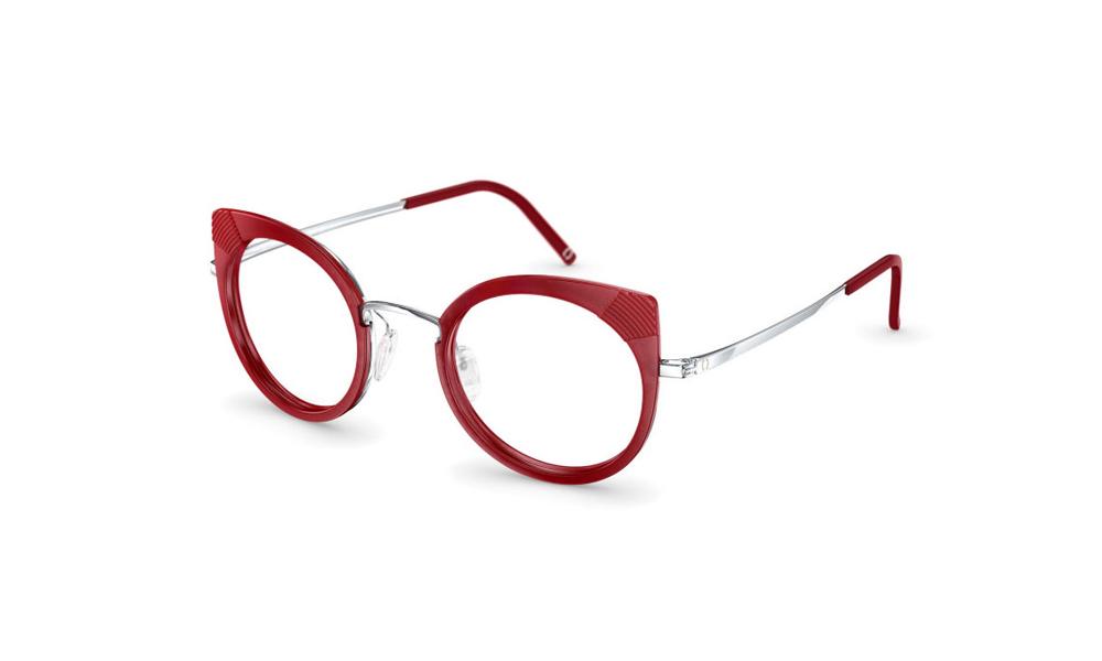 occhiale-neubau-T052-Felix3D-3210-electric-red-eclectic-silver