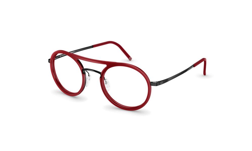 occhiale-neubau-T053-Felix3D-3340-electric-red-black-ink